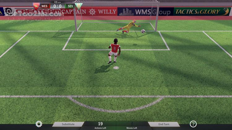 Football, Tactics Glory Creative Freedom تصاویر نرم افزار  - سافت گذر