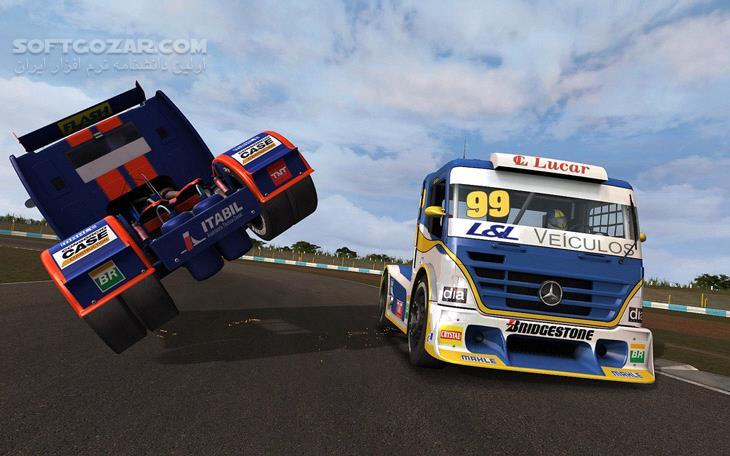 Formula Truck Simulator 2013 تصاویر نرم افزار  - سافت گذر
