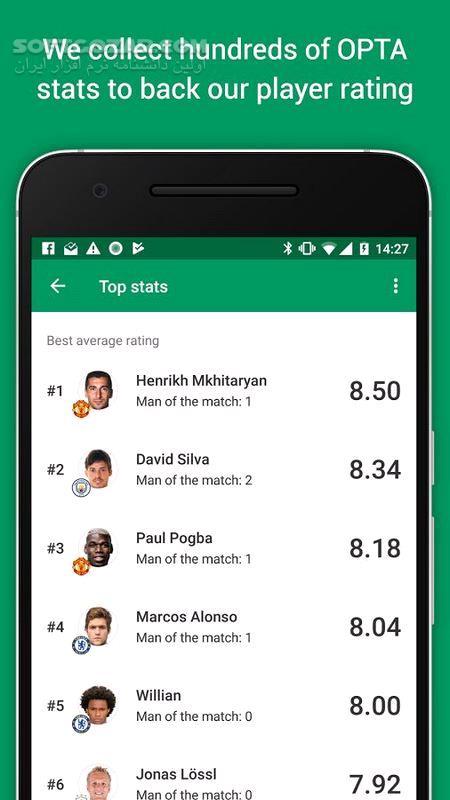 FotMob Pro 100 0 6609 201901505 For Android 4 0 تصاویر نرم افزار  - سافت گذر