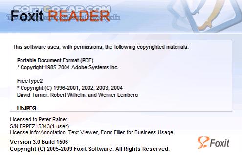 Foxit Reader 9 5 0 20723 Portable تصاویر نرم افزار  - سافت گذر