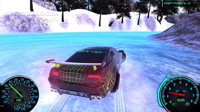 Frozen Drift Race تصاویر نرم افزار  - سافت گذر
