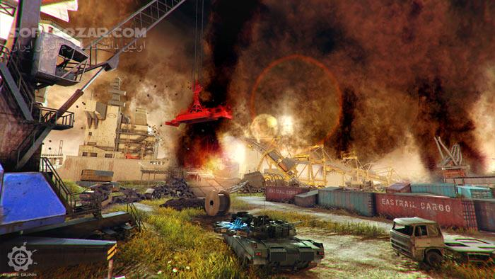 GEARGUNS Tank offensive تصاویر نرم افزار  - سافت گذر