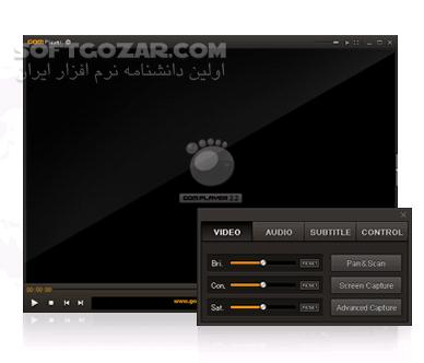 GOM Player Plus 2 3 36 5297 Portable Free 2 3 37 5299 تصاویر نرم افزار  - سافت گذر