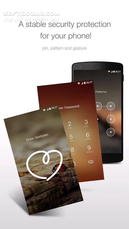 GO Locker 6 06 71 Theme for Android 4 0 تصاویر نرم افزار  - سافت گذر