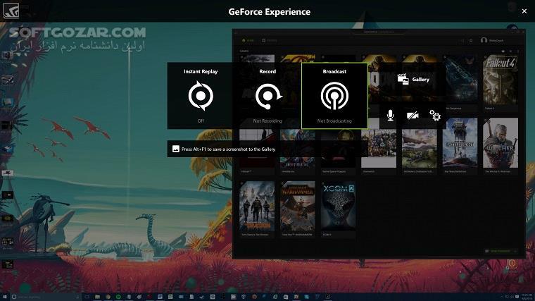 NVIDIA GeForce Experience 3 17 0 126 تصاویر نرم افزار  - سافت گذر