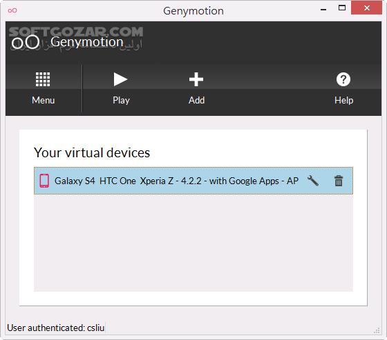Genymotion 2 12 0 2 11 0 2 0 3 Pre Rooted Mac تصاویر نرم افزار  - سافت گذر