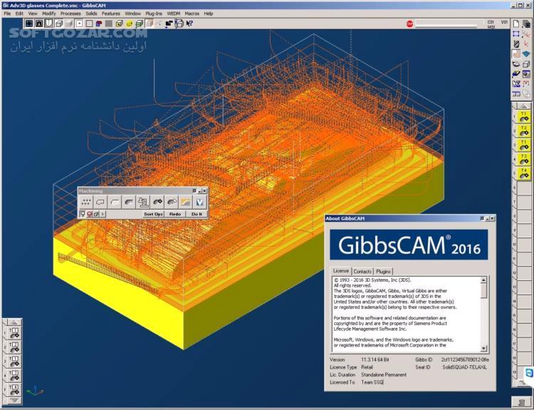 GibbsCAM 12 0 40 0 Docs Posts x64 تصاویر نرم افزار  - سافت گذر