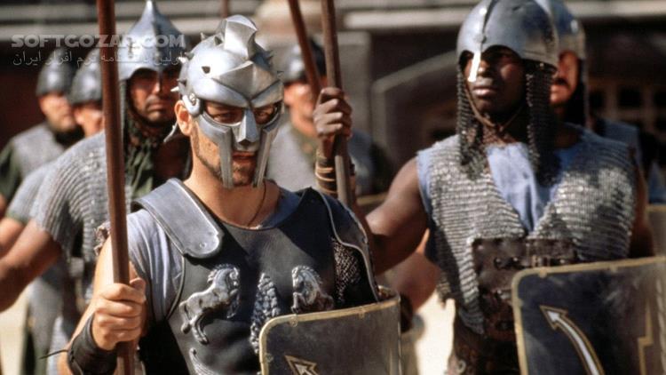 Gladiator تصاویر نرم افزار  - سافت گذر
