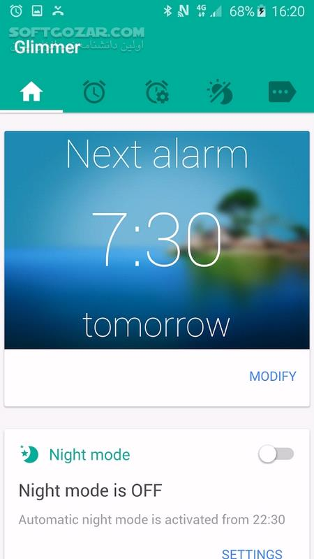 Glimmer Full 2 0 32 for Android 4 1 تصاویر نرم افزار  - سافت گذر