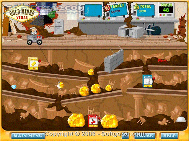 GoldMiner Vegas Full Version تصاویر نرم افزار  - سافت گذر