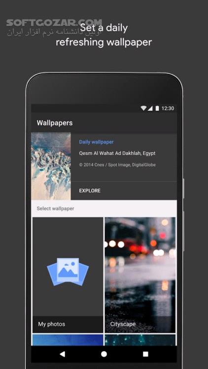 Google Wallpapers 1 3 169416333 for Android 4 1 تصاویر نرم افزار  - سافت گذر