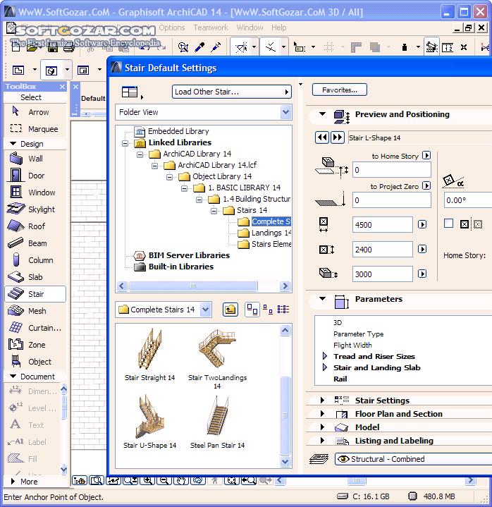 Graphisoft ARCHICAD 21 Build 6013 Win64 Mac تصاویر نرم افزار  - سافت گذر