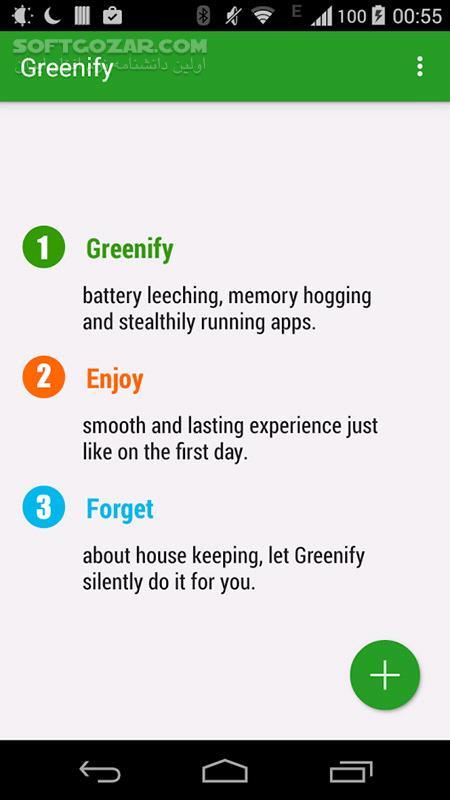 Greenify 4 7 5 for Android 4 1 تصاویر نرم افزار  - سافت گذر