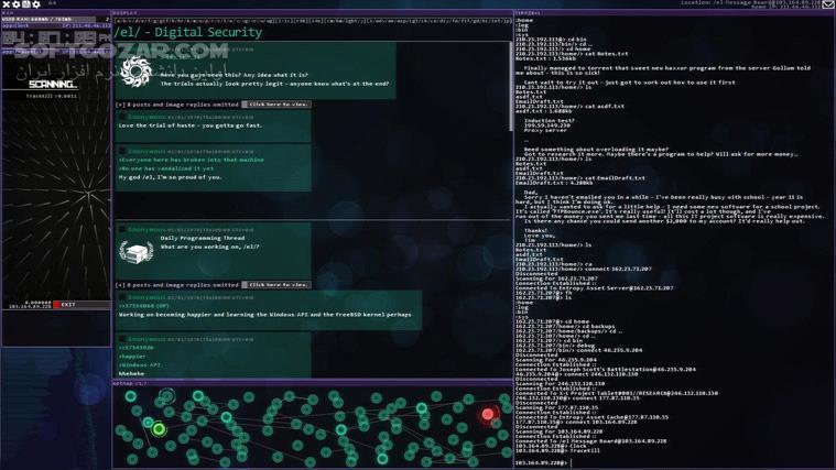 Hacknet تصاویر نرم افزار  - سافت گذر