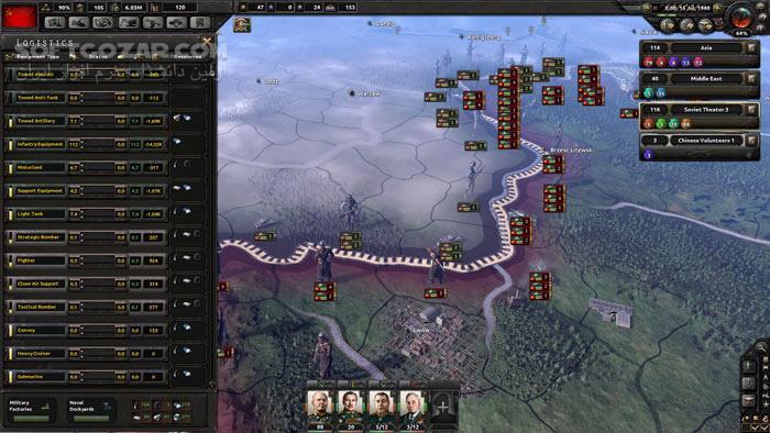 Hearts of Iron IV Together for Victory تصاویر نرم افزار  - سافت گذر