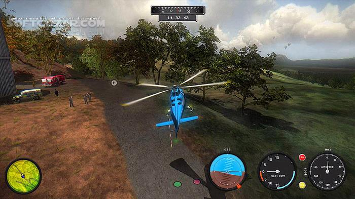 Helicopter Simulator Search and Rescue تصاویر نرم افزار  - سافت گذر