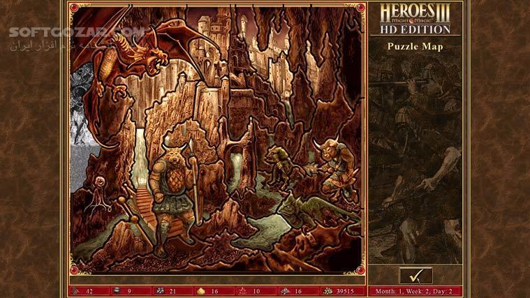 Heroes of Might and Magic III HD Edition تصاویر نرم افزار  - سافت گذر