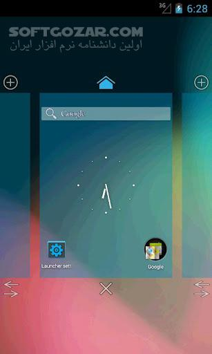 Holo Launcher Plus HD Plus 3 0 9 Holo Notifer 1 3 for Android 4 1 تصاویر نرم افزار  - سافت گذر