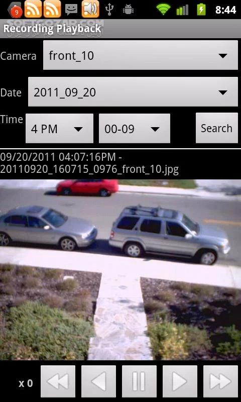 IP Cam Viewer Pro 6 9 1 for Android 2 0 تصاویر نرم افزار  - سافت گذر