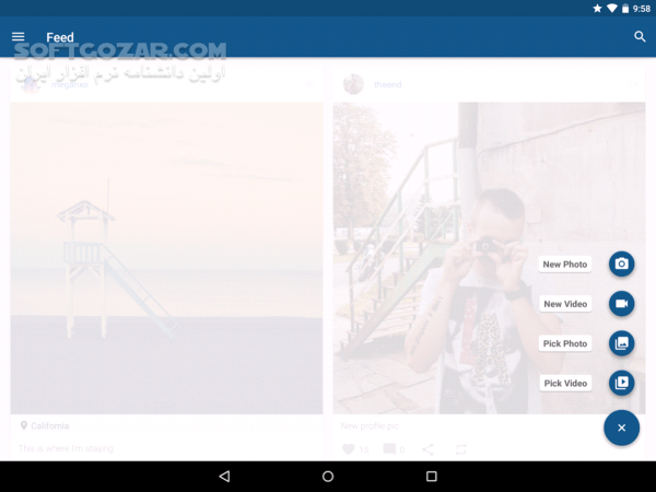Imagine for Instagram 4 0 9 for Android 4 1 تصاویر نرم افزار  - سافت گذر