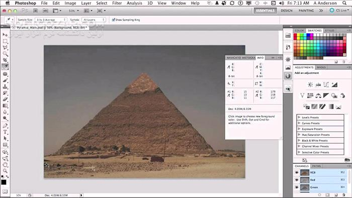 InfiniteSkills Photo Restoration With Photoshop Training Video تصاویر نرم افزار  - سافت گذر
