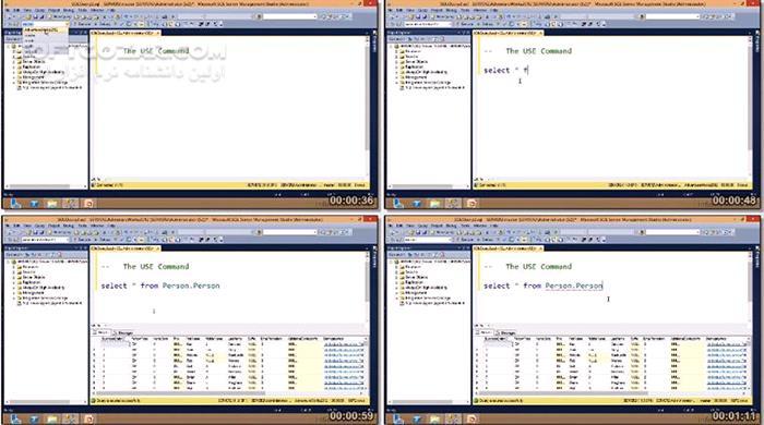 InfiniteSkills Microsoft SQL Server 2012 Certification Exam 70 461 Training Video تصاویر نرم افزار  - سافت گذر