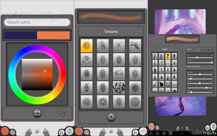 Infinite Painter 6 3 37 For Andoird 4 3 تصاویر نرم افزار  - سافت گذر