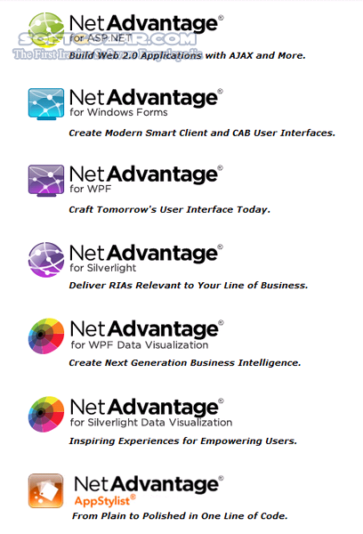 Infragistics NetAdvantage Ultimate 2013 Volume 2 Help Samples Icons تصاویر نرم افزار  - سافت گذر