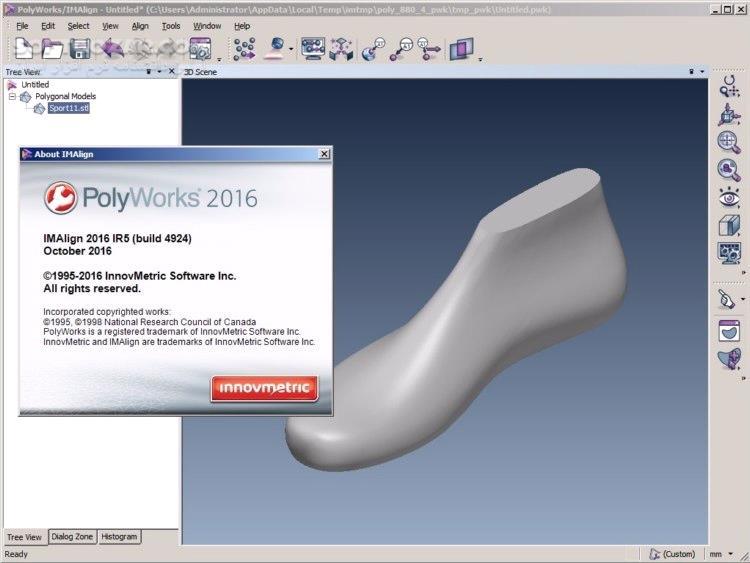 InnovMetric PolyWorks Metrology Suite 2019 IR4 2018 IR12 تصاویر نرم افزار  - سافت گذر