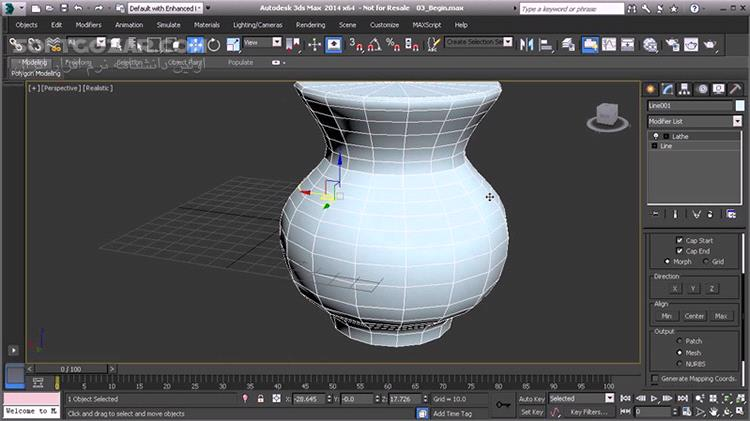 Digital Tutors Introduction to Modeling for Games in 3ds Max تصاویر نرم افزار  - سافت گذر