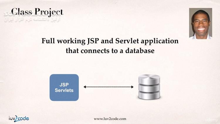 JSP and Servlets for Beginners Build a Database App تصاویر نرم افزار  - سافت گذر
