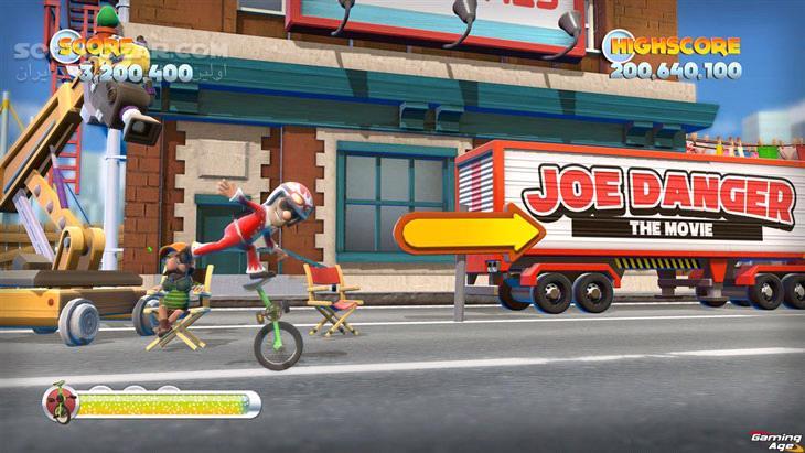 Joe Danger 2 The Movie Update 1 تصاویر نرم افزار  - سافت گذر