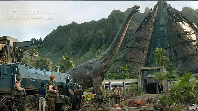 Jurassic World Fallen Kingdom 2018 تصاویر نرم افزار  - سافت گذر