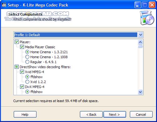K Lite Codec Pack 15 2 5 Mega تصاویر نرم افزار  - سافت گذر