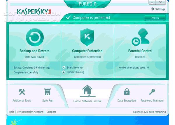 Kaspersky Total Security 2018 2019 2020 Offline Update 2019 09 15 تصاویر نرم افزار  - سافت گذر