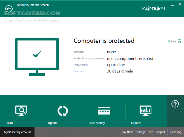 Kaspersky Total Security Internet Security AntiVirus Free 2020 v20 0 14 1085 تصاویر نرم افزار  - سافت گذر