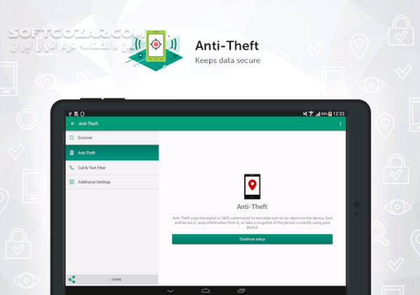 Kaspersky Internet Security Antivirus 11 21 4 1922 for Android 4 1 تصاویر نرم افزار  - سافت گذر