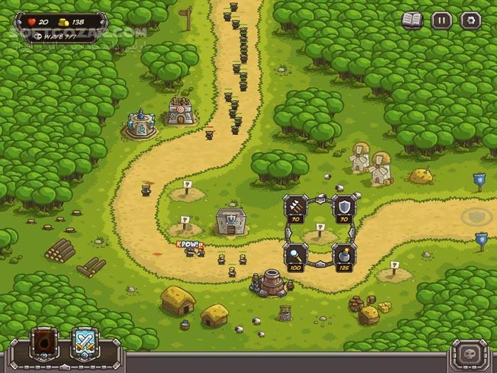 Kingdom Rush HD v2 1 تصاویر نرم افزار  - سافت گذر