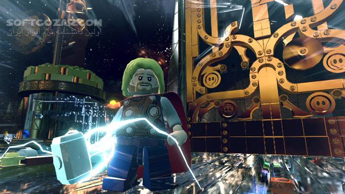 LEGO Marvel Super Heroes تصاویر نرم افزار  - سافت گذر