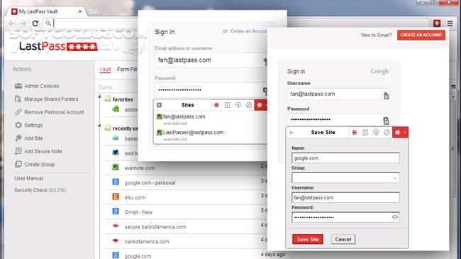 LastPass Password Manager 4 31 تصاویر نرم افزار  - سافت گذر