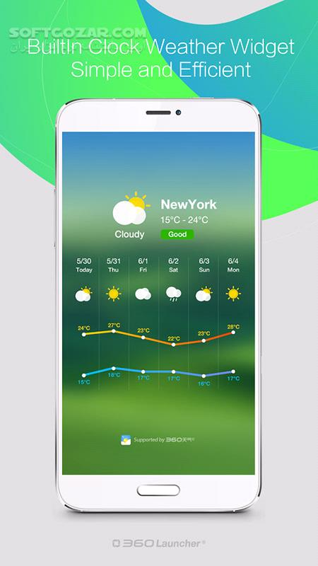 Launcher 360 7 1 5 for Android 2 1 تصاویر نرم افزار  - سافت گذر