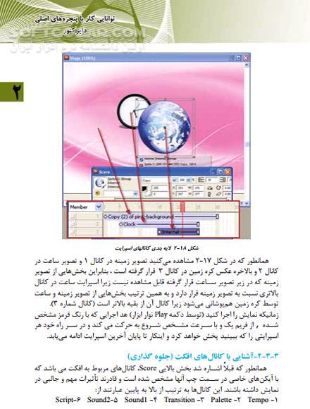کتاب آموزش آدوبی دایرکتور تصاویر نرم افزار  - سافت گذر