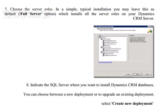 آموزش کامل نصب Microsoft Dynamics CRM 2011 تصاویر نرم افزار  - سافت گذر