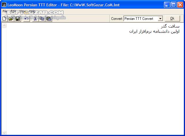 LeoMoon ParsiNegar 2 1 1 Win Mac تصاویر نرم افزار  - سافت گذر
