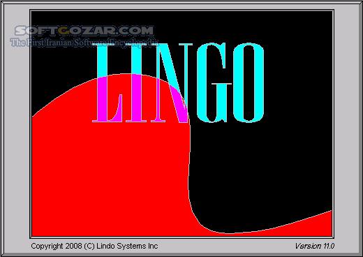 Lindo Lingo 17 0 60 تصاویر نرم افزار  - سافت گذر