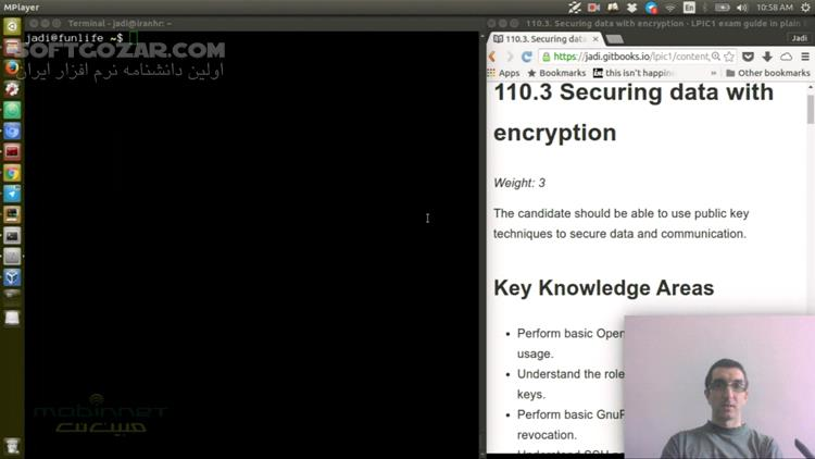 دوره آموزش تصویری لینوکس LPIC 1 Exam 102 به زبان فارسی تصاویر نرم افزار  - سافت گذر