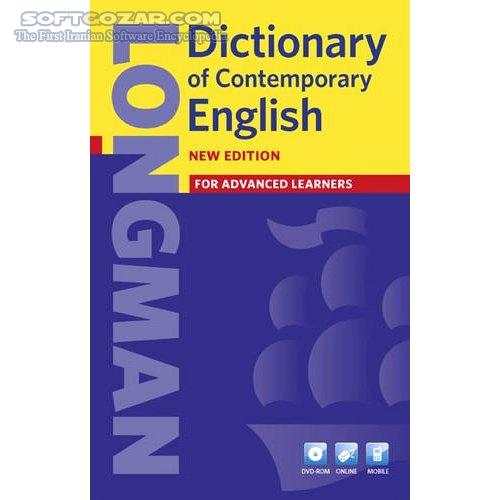 Longman Dictionary of Contemporary English 5th Edition 2009 تصاویر نرم افزار  - سافت گذر