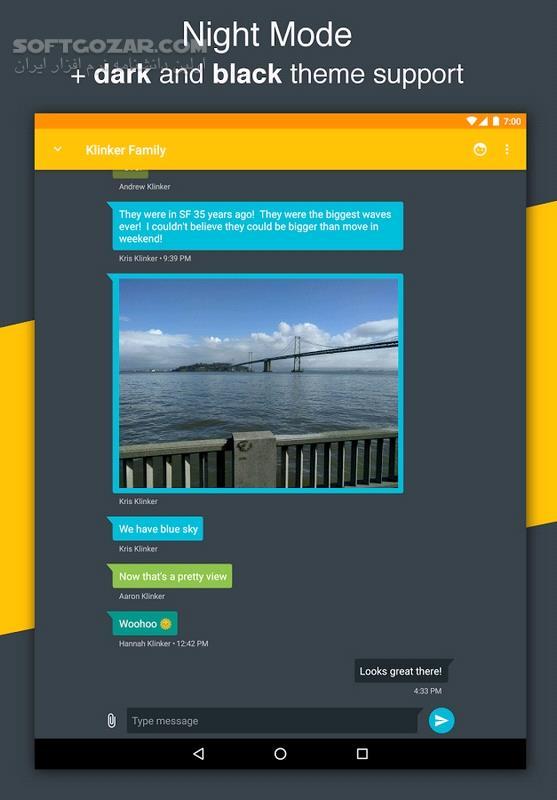 Pulse SMS Full 4 10 1 2523 for Android 5 03 2 1 2166 تصاویر نرم افزار  - سافت گذر