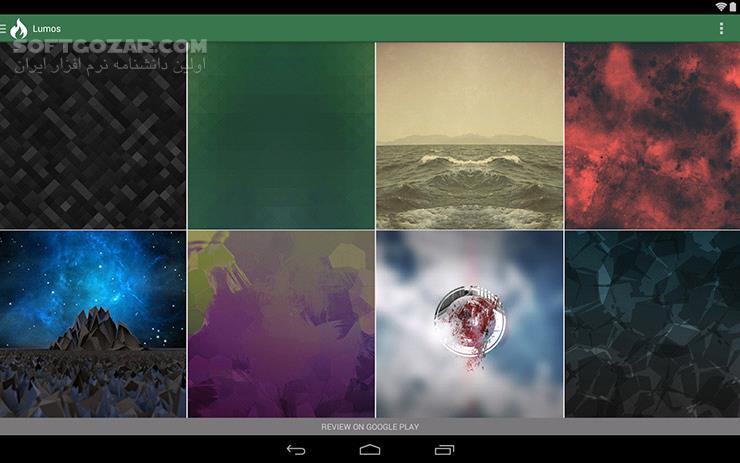 Lumos 3 0 6 for Android 4 0 تصاویر نرم افزار  - سافت گذر