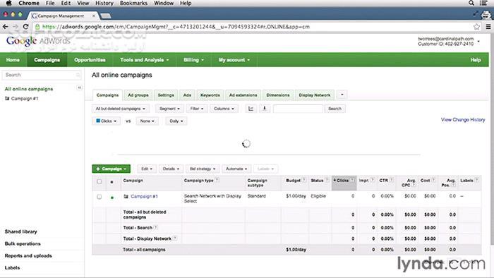 Lynda Google AdWords Essential Training تصاویر نرم افزار  - سافت گذر